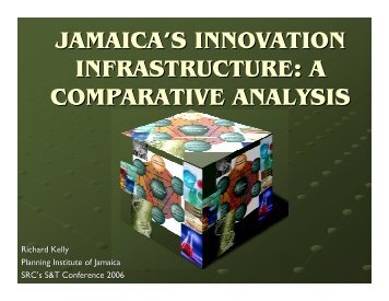 Jamaica's Innovation Infrastructure - Planning Institute of Jamaica