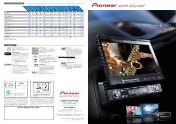 A/V Units Terminal Comparison - Pioneer