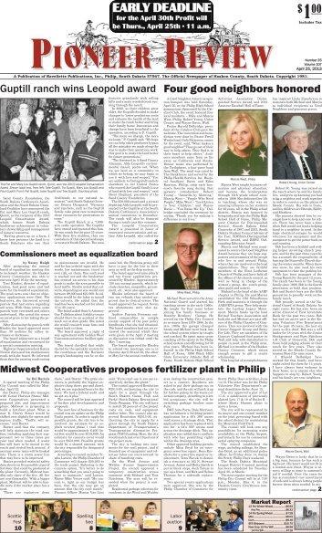 Grindstone News - Pioneer Review