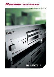 DVD-Audio/Video/SACD-Spieler - Pioneer Europe