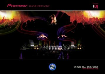 pro dj range - Pioneer