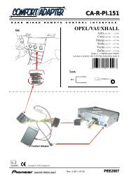 ca-r-pi.151 opel/vauxhall - Pioneer