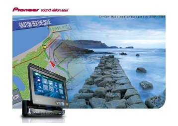 In-car Multimedia/Navigation 2004-2005 - Pioneer Europe