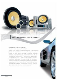 Pioneer 2004-05 In-Car Entertainment Guide - Part 2