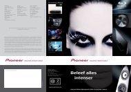 Alle details op - Pioneer Europe