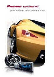 Pioneer Car Entertainment preview 2004-2005 - Pioneer Europe