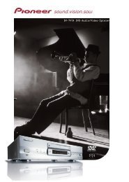 DV-747A DVD-Audio/Video-Spieler - Pioneer