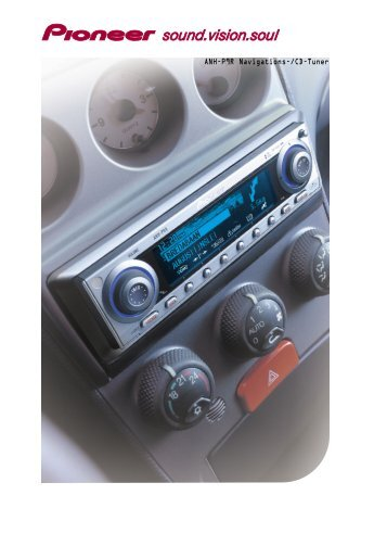 ANH-P9R Navigation Radio/CD Tuner - Pioneer Europe