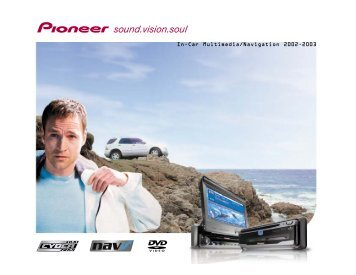 In-Car Multimedia/Navigation 2002-2003 - Pioneer