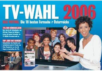 DAS VOTING: Die 18 besten Fernsehe r Österreichs - Pioneer