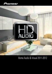 Home Audio & Visual 2011-2012 - Pioneer