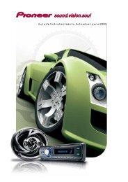 Pioneer In-Car Entertainment Guide 2005