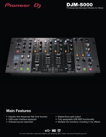 Features - Pioneer DJ