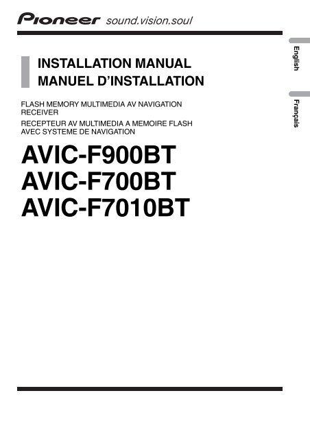 Wiring Diagram For Pioneer Avic F900bt