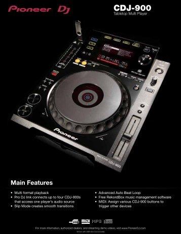 CDJ-900 - Pioneer
