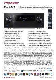 SC-LX76 - Pioneer