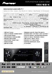 VSX-92I-K - Cobrason