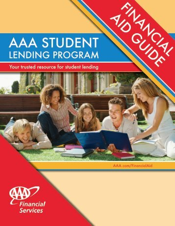 Financial Aid Guide - AAA Pioneer Valley