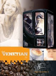 Download Venetian Brochure.pdf - Pioneer Vending