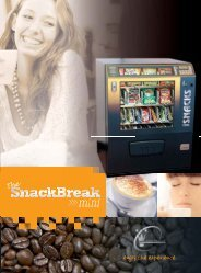 SnackBreak Mini Brochure - Pioneer Vending