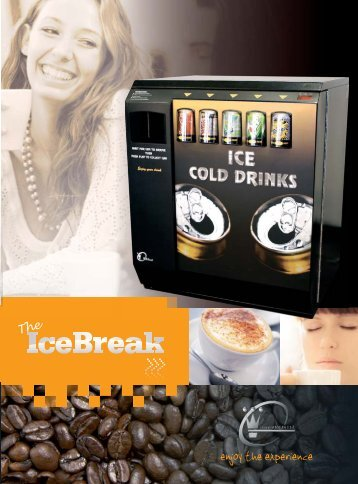 View pdf IceBreak Brochure - Pioneer Vending