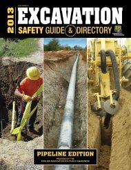 Excavation Safety Guide - Pipeline Association for Public Awareness
