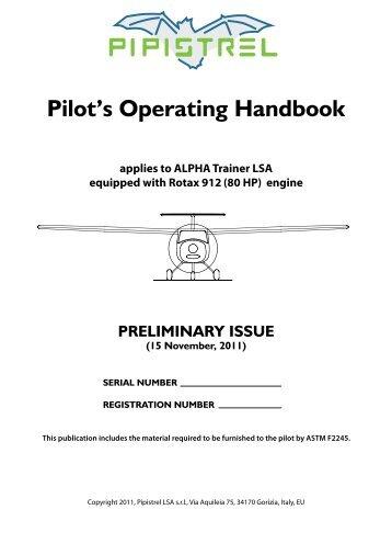 ALPHA Trainer Manual Final.pdf - Pipistrel