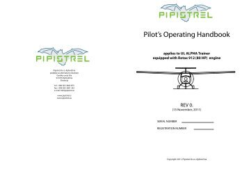 ALPHA Trainer-POH booklet.pdf - Pipistrel