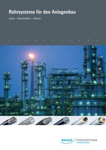 Rohrsysteme für den Anlagenbau - Brugg Rohrsystem AG