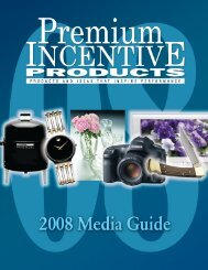 Complete 2008 Media File - Premium Incentive Products