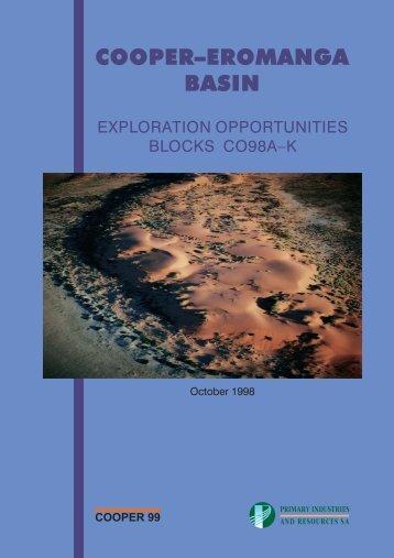 Cooper-Eromanga Basin - PIRSA - SA.Gov.au