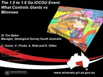 The 1.5 to 1.6 Ga IOCGU Event: What Controls Giants vs Minnows
