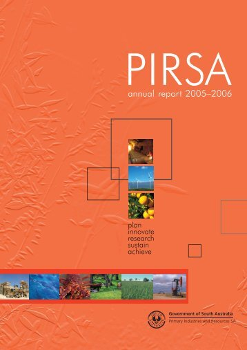 Annual Report 2005-06 - PIRSA - SA.Gov.au