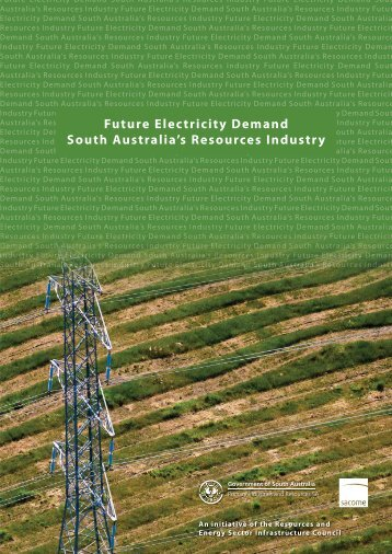 Future Electricity Demand - PIRSA - SA.Gov.au