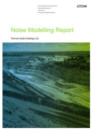 Noise Modelling Report March 2010 (.pdf 2.4Mb)