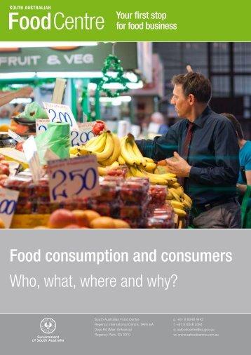 SA Consumers Report - PIRSA - SA.Gov.au