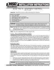 msd 7al-3, ignition control - pirate4x4 com