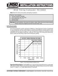 MSD Timing Computer, PN 8980 - Pirate4x4.Com