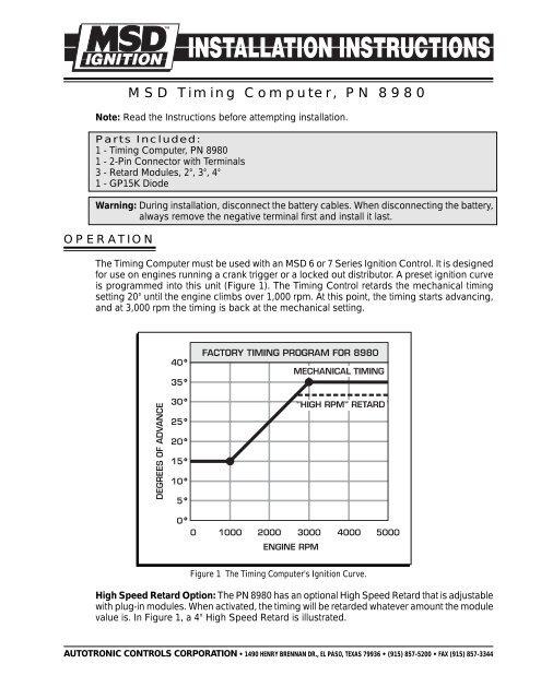 Msd 7al 2 Wiring Diagram 7220