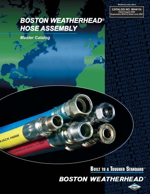 WEATHERHEAD 1-1//2 Hydraulic Hose H43924 SAE 100R12 2500 psi
