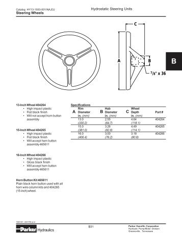 Parker Steering Wheels - Pirate4x4.Com