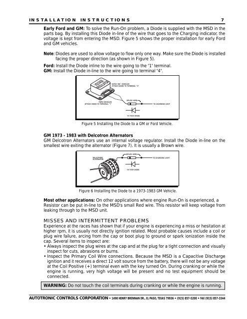Ford Diode Voltage Regulator Wiring - Wiring Diagrams Dock