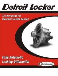Detroit Locker brochure - Pirate4x4.Com