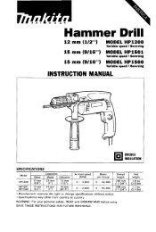 Makita Hammer drill HP1500 - Pirate4x4.Com