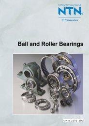 Ball and Roller Bearings - Ntn-snr.com