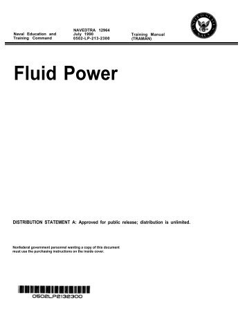 US Navy Training Manual - fluid-power - Pirate4x4.Com