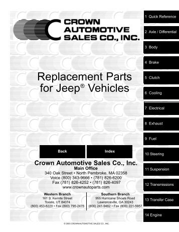Crown_Jeep_Parts_Catologue - Pirate4x4.Com