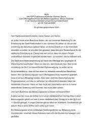 Herr Stadtverordnetenvorsteher, meine Damen und ... - Pirate Leaks