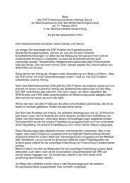 Frau Stadtverordnetenvorsteherin, meine Damen und ... - Pirate Leaks
