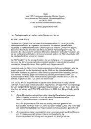 FDP – Fraktion der Stadtverordnetenversammlung ... - Pirate Leaks